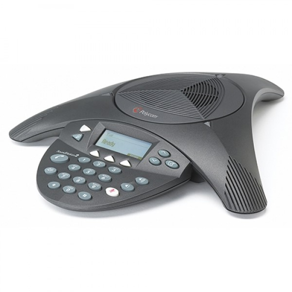 Polycom SoundStation2 EX Analog Conference Phone - 2200-16200-001